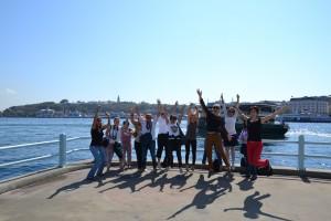 Jumping N.E.S.T. team
